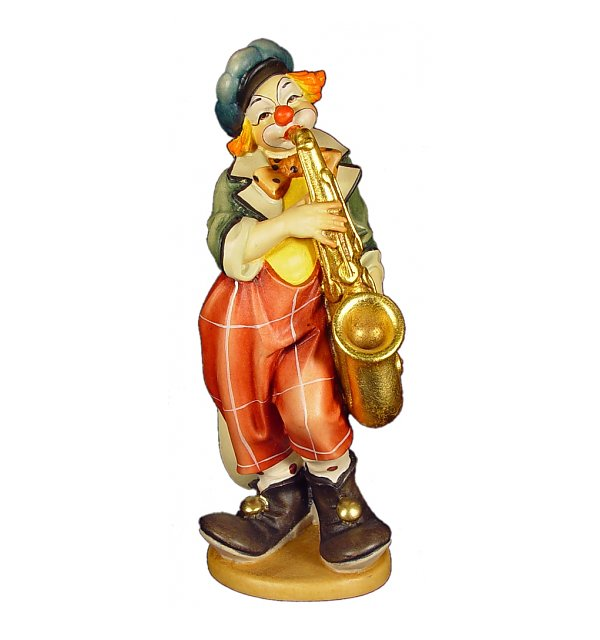 1541 - Clown with saxophone